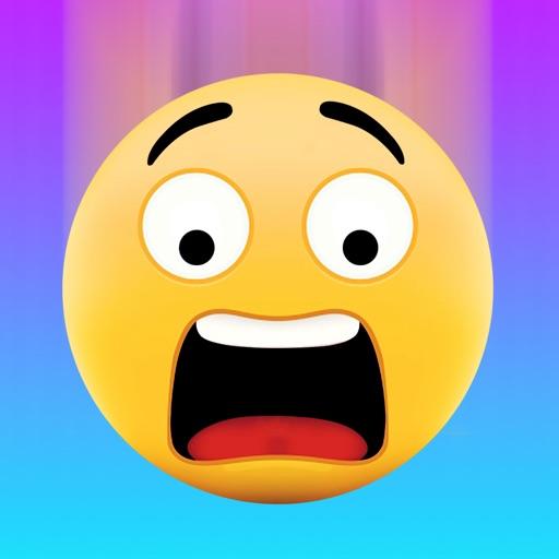Emoji Drop iOS App