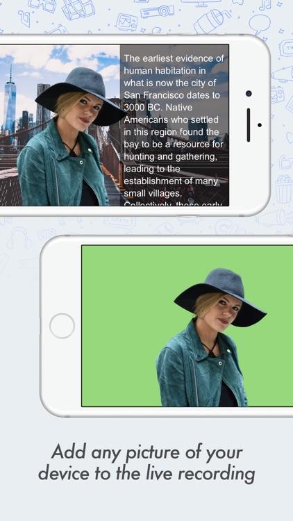 Green Screen Teleprompter screenshot-5