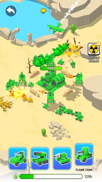 Toy Army: Draw Defense screenshot-3