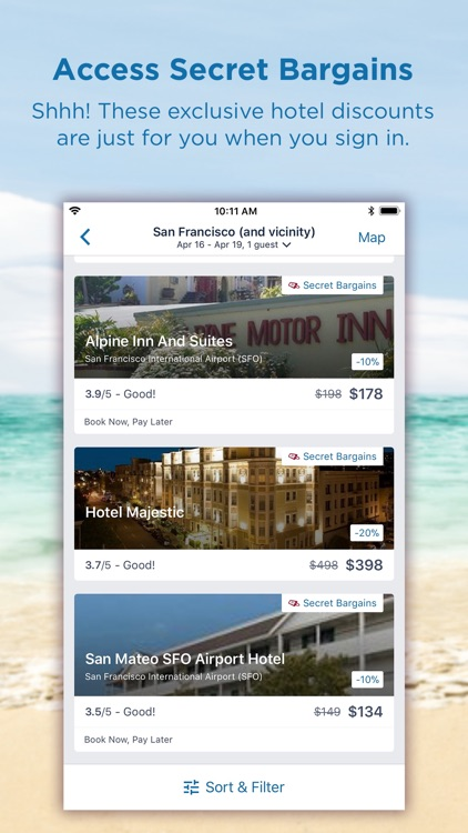 CheapTickets Hotels & Flights screenshot-3