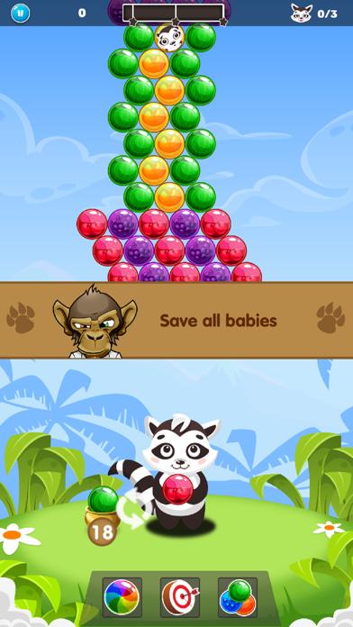 Bubble Raccoon Legend screenshot two