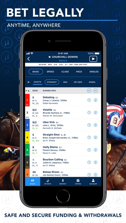 TwinSpires Horse Race Betting