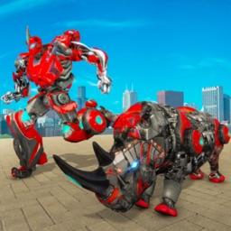 Rhino Robots Transformers Game