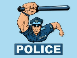 Officer Police Stickers
