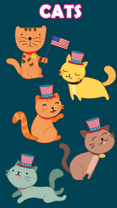 Animated July Fourth Stickers Screenshot 2
