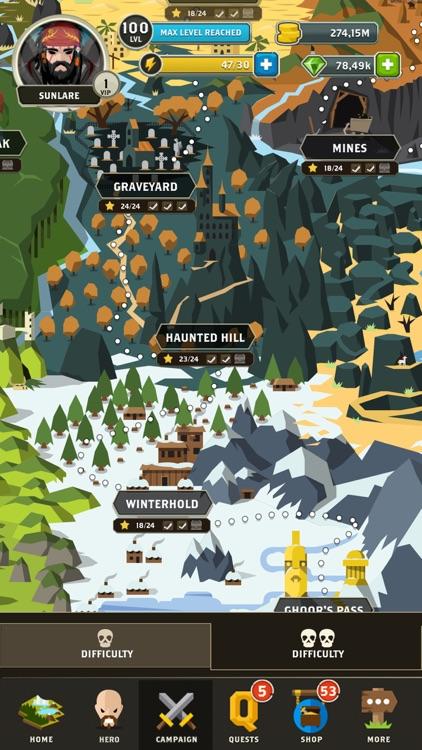 Questland RPG: Guilds & Heroes screenshot-7