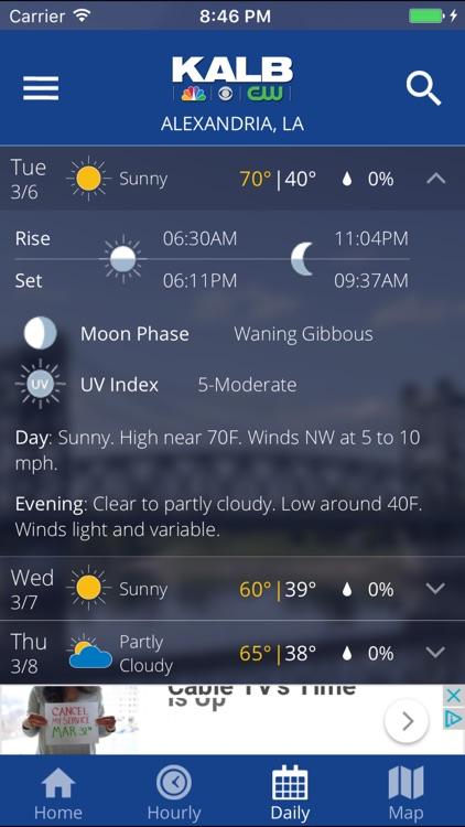 KALB WX screenshot-4