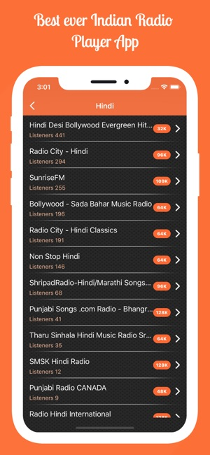 Indian Radio - Desi Stations on the App Store