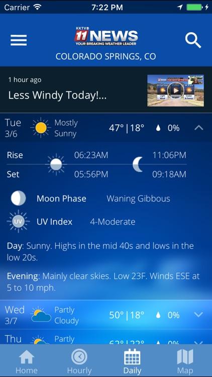 KKTV Weather and Traffic screenshot-4