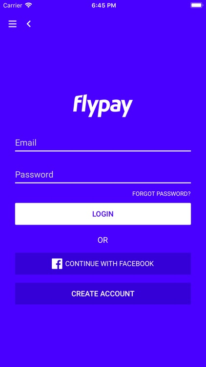 FlyPay Top-up