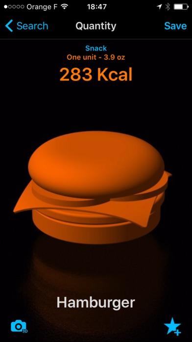 KcalMe - Calorie Tracker Screenshots