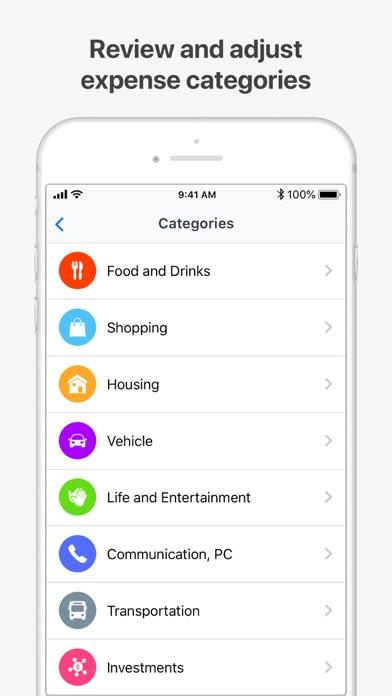 Wallet:個人財務&金銭追跡のスクリーンショット6