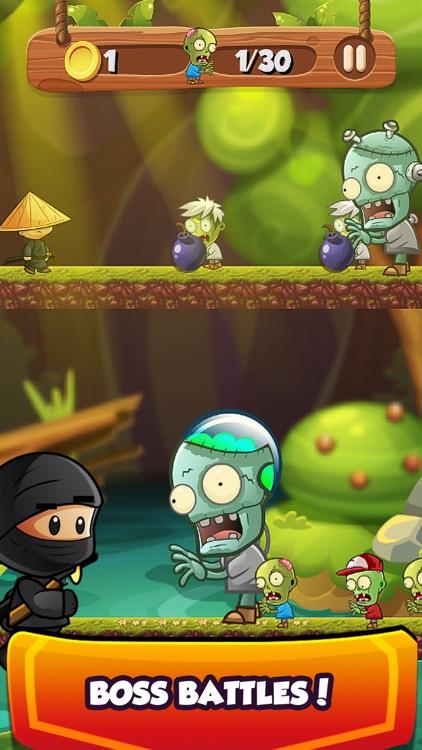 Ninja Kid Sword Flip Challenge screenshot-3