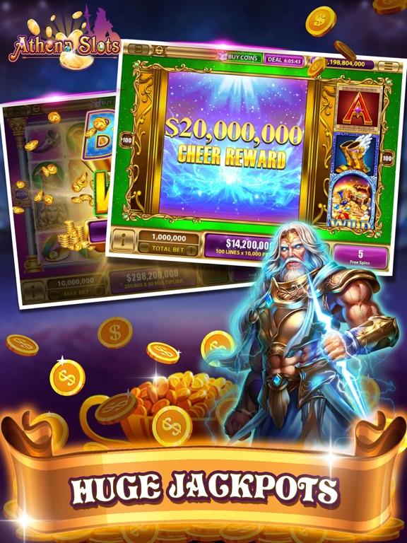 Athena Slots-funny slots-ipad-4