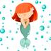 14.Mermaid Kisses Emojis Stickers