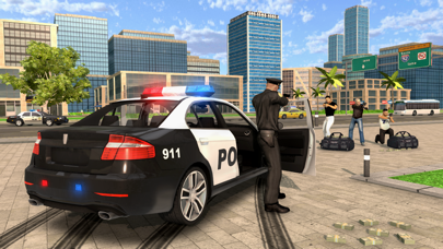 Police Car Chase Cop Simulator screenshot one