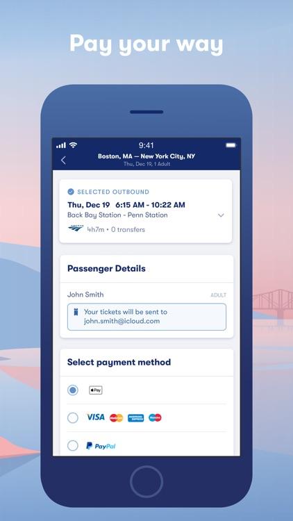 Omio: Book train, bus & flight screenshot-3
