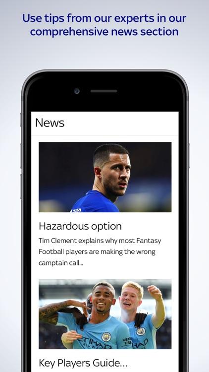 Sky Sports Fantasy Football screenshot-7