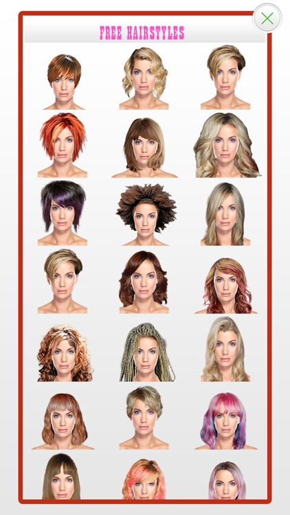 Hairstyles for Your Face Shape screenshot-3