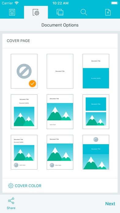 PDF Photos Screenshot