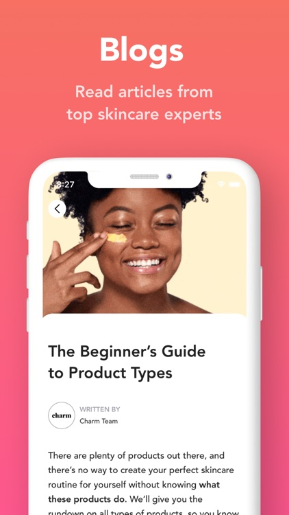Charm: Skincare Routine 360° screenshot-6