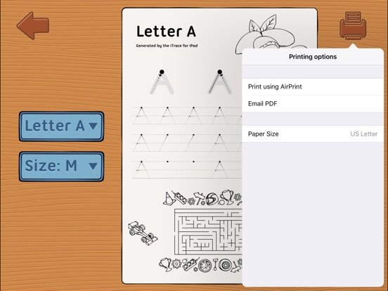 iTrace — handwriting for kids Screenshots
