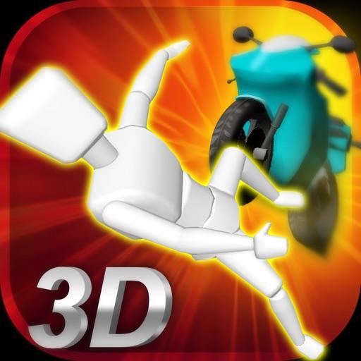 Stickman Dismounting 3D