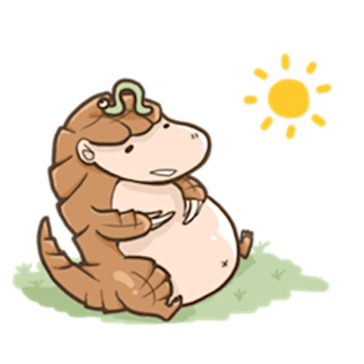 Pangolin PangolinMoji Sticker