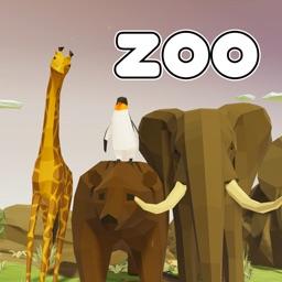 VR Zoo Wild Animals Polygon