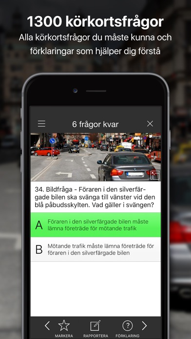 Screenshot for iKörkort in Sweden App Store
