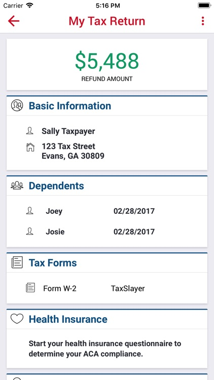 TaxSlayer - File Your Taxes screenshot-3