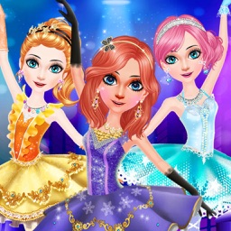 Ballerina Girls Salon Dress Up
