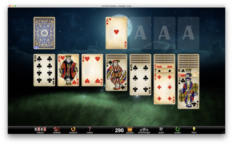 Full Deck Solitaire Screenshot