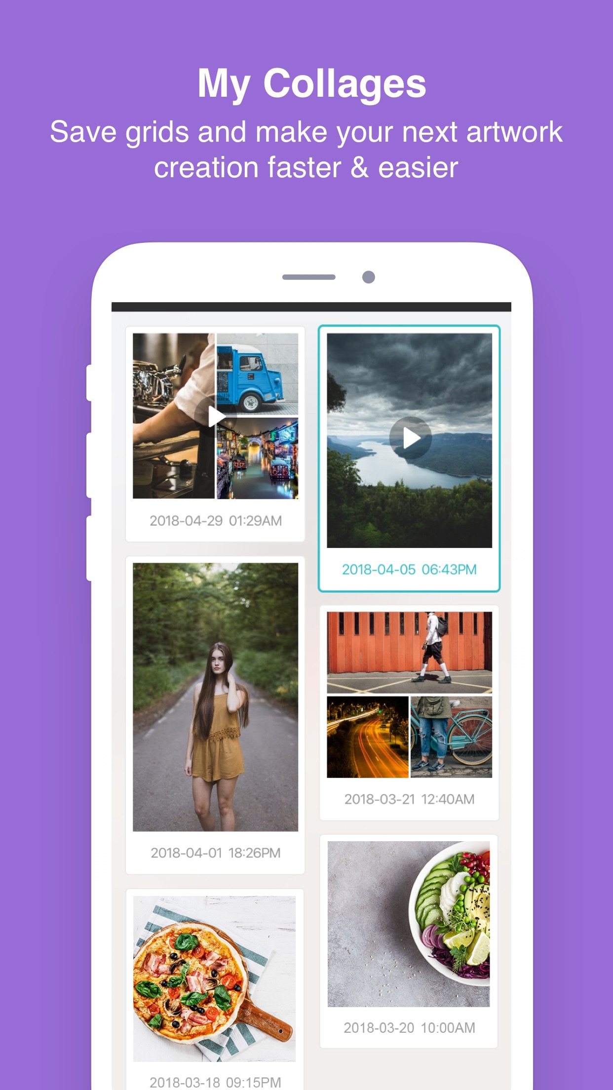PhotoGrid - Video & Pic Editor Screenshot