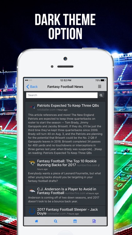 Fleaflicker Fantasy Sports screenshot-4