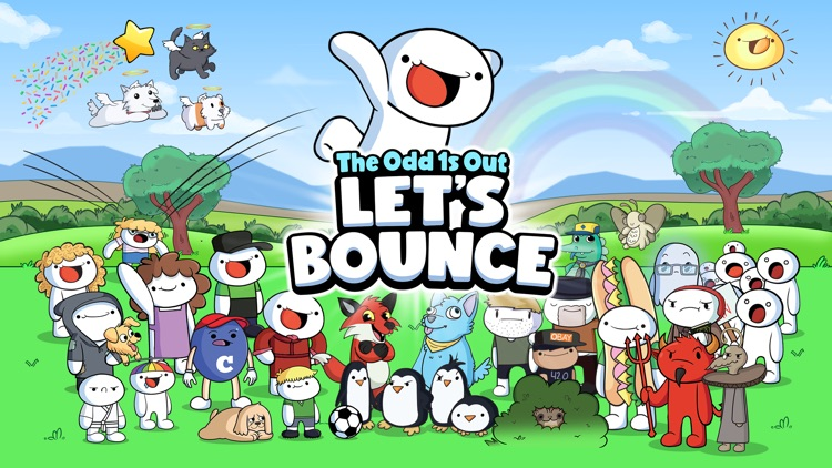TheOdd1sOut: Let's Bounce screenshot-0