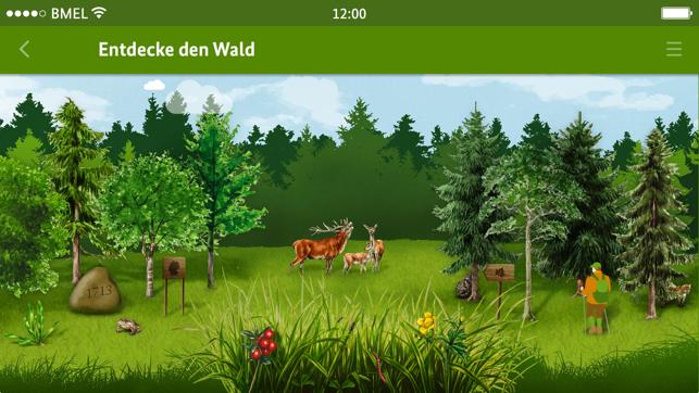 Die Waldfibel Screenshot