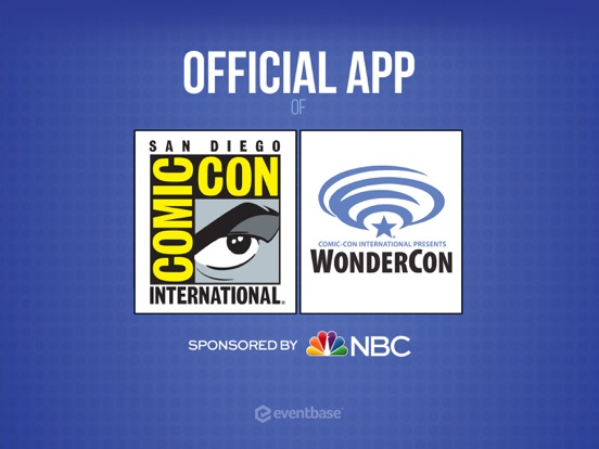 Official Comic-Con App iPad