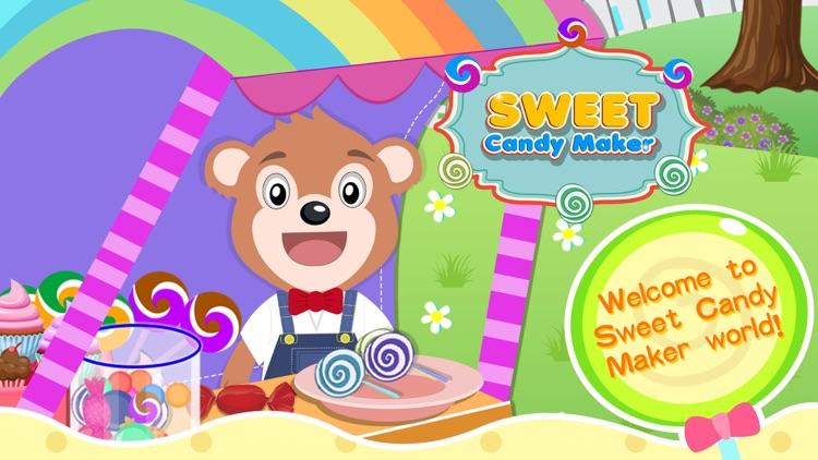Sweet Candy Maker - Uncle Bear screenshot-0