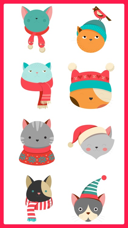 Cute Cats Stickers Pack Emojis