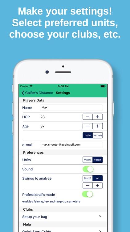 Golfer's Distance Pro screenshot-5