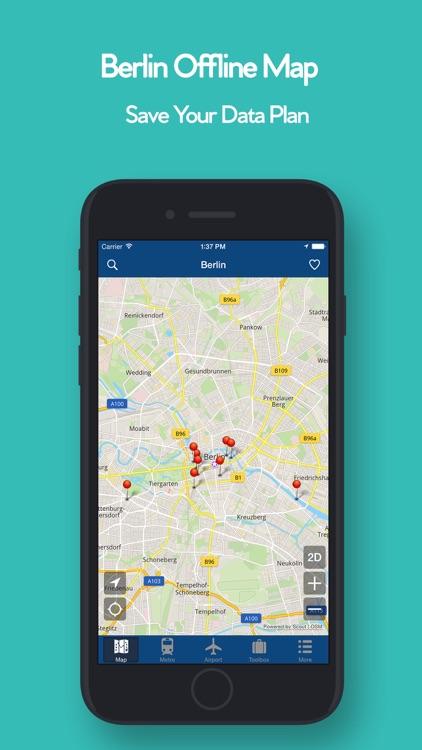 Berlin Offline Map - Metro