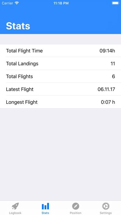 SkyPilot 2 - Pilot Logbook
