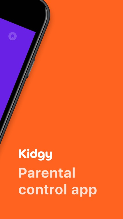 Parental Control App — Kidgy