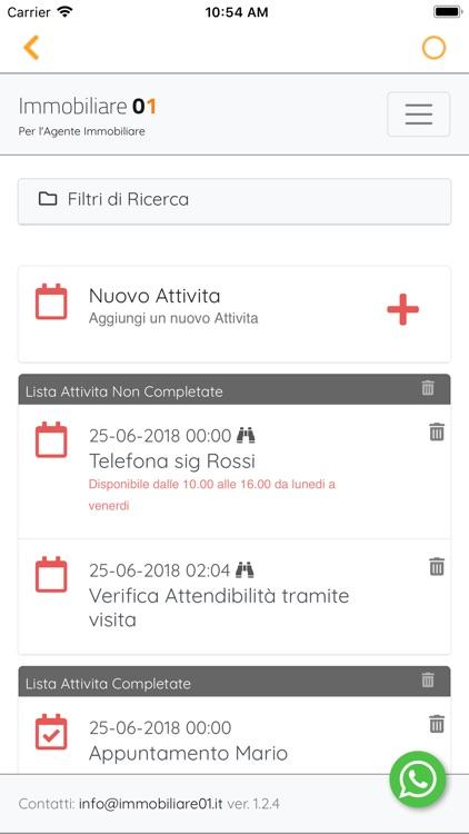Immobiliare 01 - App x Agente screenshot-3