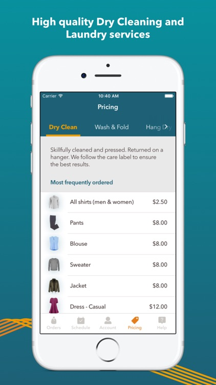 Rinse | Dry Cleaning & Laundry