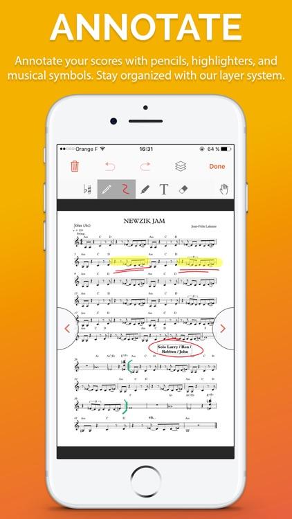 Newzik - Sheet Music Reader screenshot-0