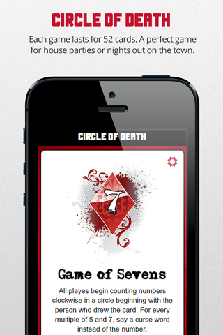 Circle of Death Drinking Game - náhled