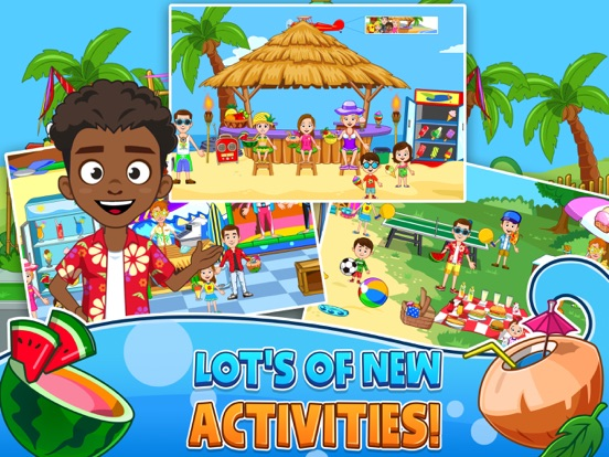 My Town : Beach Picnic IPA Cracked for iOS Free Download