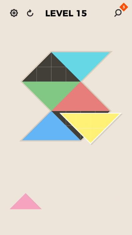 ZEN Block™-tangram puzzle game